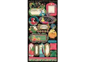 Graphic 45 Fashion Forward Stickers (4501973)