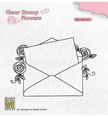 Nellie Snellen Love Letter Clear Stamp (FLO023)