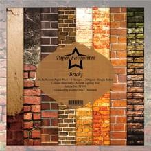 Paper Favourites Bricks 12x12 Inch Paper Pack (PF309)
