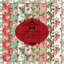 Paper Favourites Mistletoe Christmas 12x12 Inch Paper Pack (PF311)
