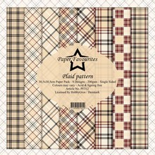 Paper Favourites Plaid Pattern 12x12 Inch Paper Pack (PF312)