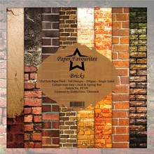 Paper Favourites Bricks 6x6 Inch Paper Pack (PF109)