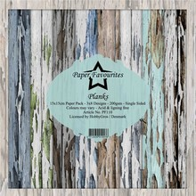 Paper Favourites Planks 6x6 Inch Paper Pack (PF110)