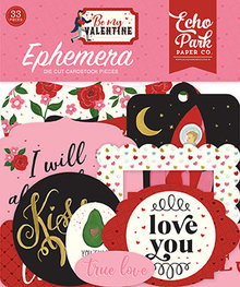 Echo Park Be My Valentine Ephemera (BMV197024)