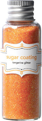 Doodlebug Design Inc. Tangerine Sugar Coating Glitter (20g) (1480)