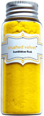 Doodlebug Design Inc. Bumblebee Crushed Velvet Flock (1790)