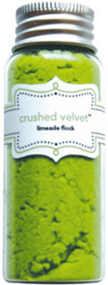 Doodlebug Design Inc. Limeade Crushed Velvet Flock (1791)