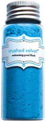Doodlebug Design Inc. Swimming Pool Crushed Velvet Flock (1792)