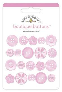 Doodlebug Design Inc. Cupcake Boutique Buttons (20pcs) (2470)