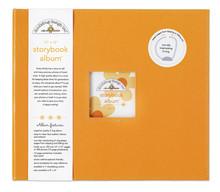 Doodlebug Design Inc. Tangerine 12x12 Inch Storybook Album (2725)