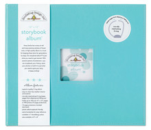 Doodlebug Design Inc. Swimming Pool 12x12 Inch Storybook Album (2727)