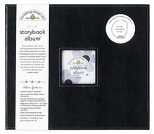Doodlebug Design Inc. Beetle Black 12x12 Inch Storybook Album (2729)