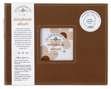 Doodlebug Design Inc. Bon Bon 8x8 Inch Storybook Album (2739)