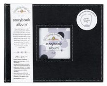 Doodlebug Design Inc. Beetle Black 8x8 Inch Storybook Album (2740)