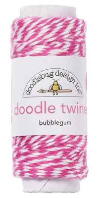 Doodlebug Design Inc. Bubblegum Doodle Twine (2987)