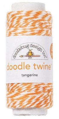 Doodlebug Design Inc. Tangerine Doodle Twine (2989)