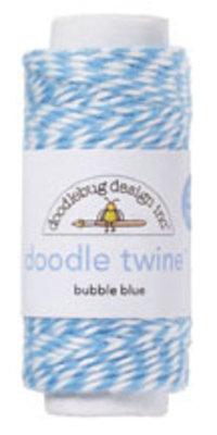 Doodlebug Design Inc. Bubble Blue Doodle Twine (2992)