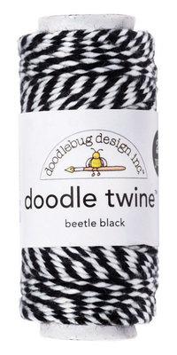 Doodlebug Design Inc. Beetle Black Doodle Twine (2994)