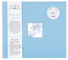 Doodlebug Design Inc. Bubble Blue 12x12 Inch Storybook Album (3199)