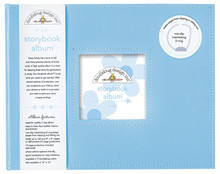Doodlebug Design Inc. Bubble Blue 8x8 Inch Storybook Album (3201)