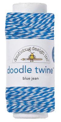 Doodlebug Design Inc. Blue Jean Doodle Twine (3207)