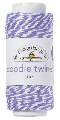 Doodlebug Design Inc. Lilac Doodle Twine (3209)