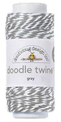 Doodlebug Design Inc. Gray Doodle Twine (3210)