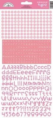 Doodlebug Design Inc. Cupcake Teensy Type Stickers (3426)