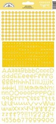 Doodlebug Design Inc. Bumblebee Teensy Type Stickers (3430)