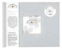Doodlebug Design Inc. Grey 8x8 Inch Storybook Album (3489)