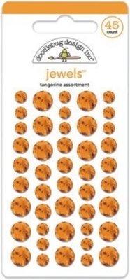 Doodlebug Design Inc. Tangerine Jewels (45pcs) (3505)