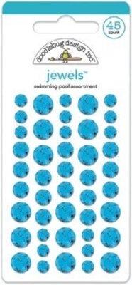Doodlebug Design Inc. Swimming Pool Jewels (45pcs) (3508)