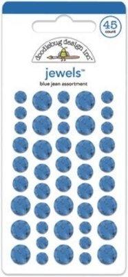Doodlebug Design Inc. Blue Jean Jewels (45pcs) (3509)