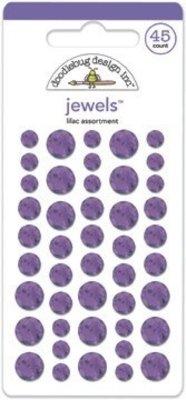 Doodlebug Design Inc. Lilac Jewels (45pcs) (3510)