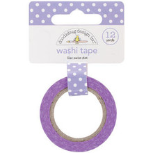 Doodlebug Design Inc. Lilac Swiss Dot Washi Tape (3656)