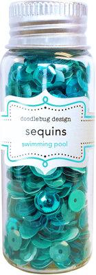 Doodlebug Design Inc. Swimming Pool Sequins (4262)