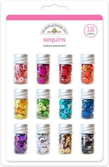 Doodlebug Design Inc. Sequins Assortment Pack (12pcs) (4268)