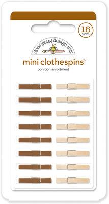 Doodlebug Design Inc. Bon Bon Mini Clothespins (16pcs) (4449)
