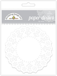 Doodlebug Design Inc. Lily White Doilies (75pcs) (4460)