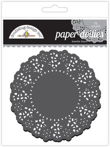Doodlebug Design Inc. Beetle Black Doilies (75pcs) (4462)