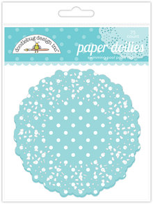 Doodlebug Design Inc. Swimming Pool Polka Dot Doilies (75pcs) (4469)