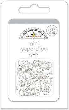Doodlebug Design Inc. Lily White Mini Paperclips (25pcs) (4504)