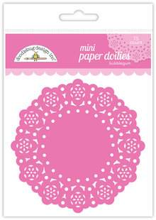 Doodlebug Design Inc. Bubblegum Mini Doilies (75pcs) (4597)