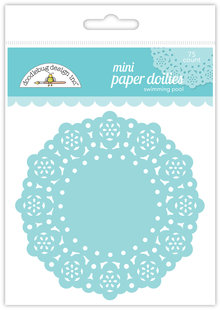 Doodlebug Design Inc. Swimming Pool Mini Doilies (75pcs) (4602)