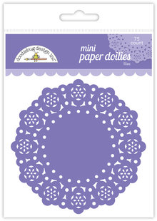 Doodlebug Design Inc. Lilac Mini Doilies (75pcs) (4604)
