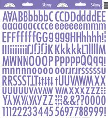 Doodlebug Design Inc. Lilac Skinny Stickers (4724)