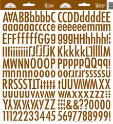 Doodlebug Design Inc. Bon Bon Skinny Stickers (4726)
