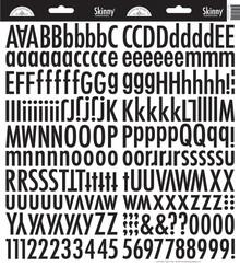 Doodlebug Design Inc. Beetle Black Skinny Stickers (4727)