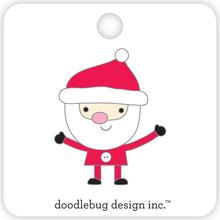 Doodlebug Design Inc. Santa Collectible Pin (5415)