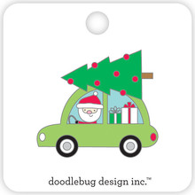 Doodlebug Design Inc. Here Comes Santa Collectible Pin (5416)
